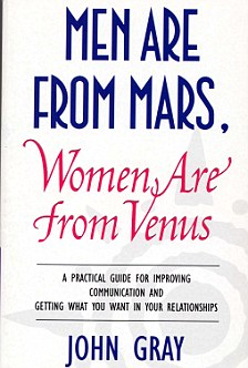 men are from mars and women are from venus book cover